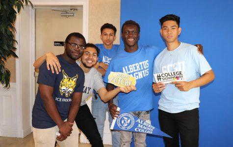 College Signing Day Celebrates Seniors