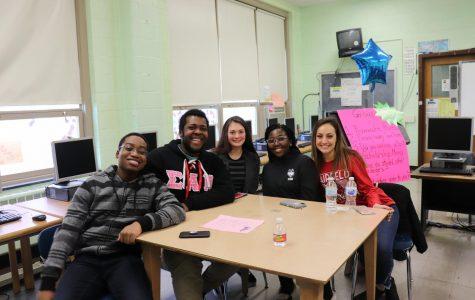 left to right: Ernest Ayesu, Aaron Vaughn, Jillian Doherty, Nayo Daniel, and Stefania Vendrella