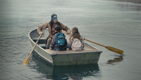 "While not being able to see, characters in ""Bird Box"" take a trip to a safe haven."
