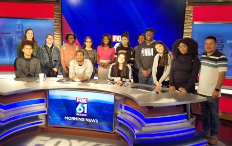 WHHS Visits FOX 61 News in Hartford