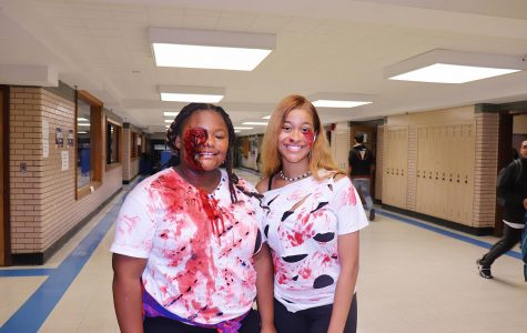 West Haven High School Gets Into Halloween Spirit