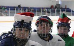 WHHS Celebrates Holidays with Pajamas, Caroling and Hockey