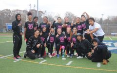 Members of the Class of 2020 at last year's Powder Puff game.