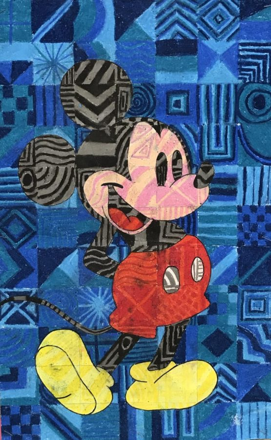 Mickey Mouse Mosaic
