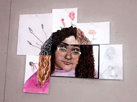 Tile Girl Painting