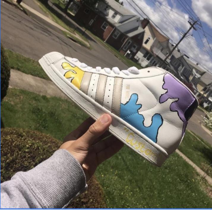 Junior Finds Success in Shoe-Designing
